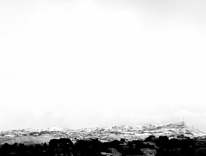neve ad alcamo e castellammare