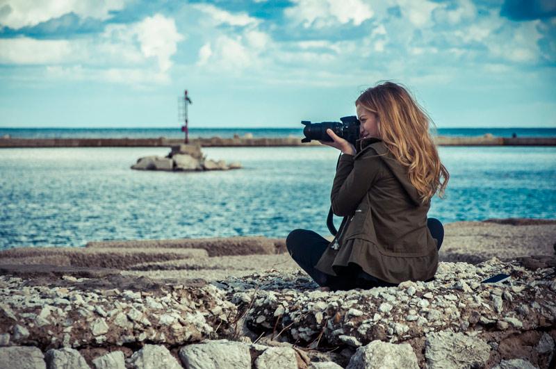 castellammare del golfo corso fotografia