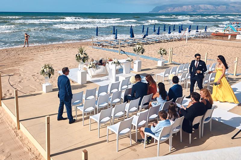 matrimonio spiaggia sicilia